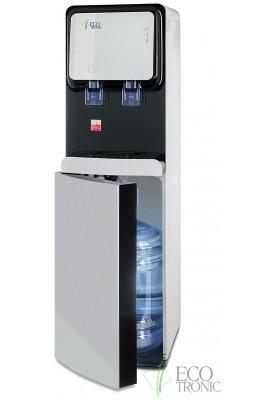 Кулер для воды с нижней загрузкой бутыли Ecotronic M50-LXE white+black