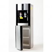 Кулер для воды с холодильником SMixx 16L-B/E black and silver