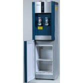 Кулер для воды  с холодильником SMixx 16L-B/E blue and silver