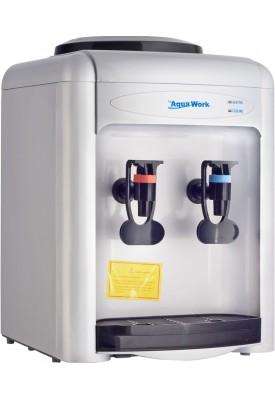 Кулер для воды настольный Aqua Work 0.7-TD с нагревом и электронным охлаждением серый