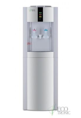 Кулер для воды Ecotronic H1-L CARBO White с газацией