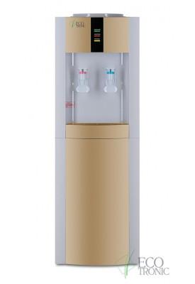 Кулер для воды напольный Ecotronic H1-LCE white/gold
