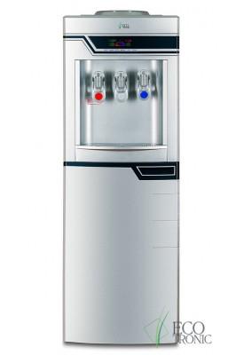 Кулер для воды напольный Ecotronic G5-LFPM с большим холодильником на 50 л