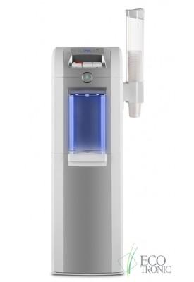 Кулер для воды с нижней загрузкой Ecotronic P8-LX  white-silver