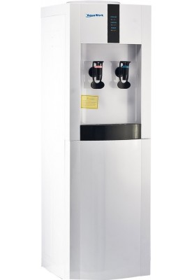 Кулер для воды напольный Aqua Work 16-L/EN с нагревом и компрессорным охлаждением