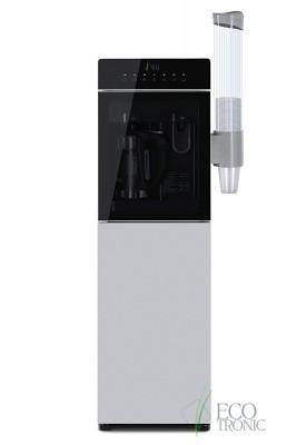 Кулер для воды напольный с чайником Ecotronic M15-LXKEM silver