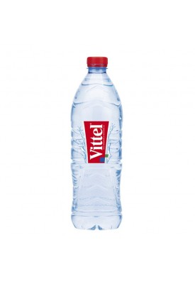 Вода негазированная минеральная  Vittel (Виттель) 1,0 л пластик