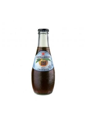 Фруктовый напиток S.Pellegrino (С.Пеллегрино) 0,2 л стекло Померанец