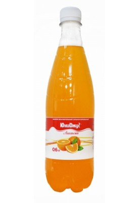 "Лимонад ЮниДжус ""Апельсин"" 0,6л."