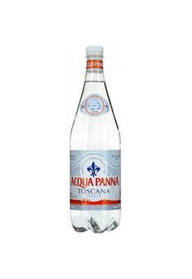 Вода негазированная минеральная  Acqua Panna (Аква Панна) 1,0 л пластик