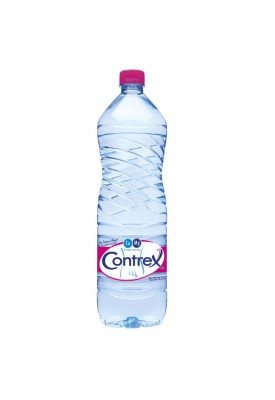 Минеральная вода с высоким содержанием Ca и Mg Contrex 1,5 л