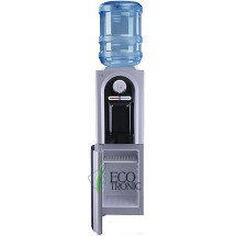 Кулер для воды напольный Ecotronic C2-LCE со шкафчиком