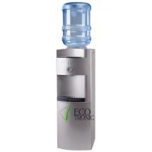 Кулер для воды напольный Ecotronic G41-LF silver с холодильником