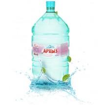 """Природная минеральная столовая вода """"Архыз"""" 19л в одноразовой упаковке"""