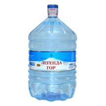 """Природная минеральная столовая вода  """"Легенда гор"""" 19 л в одноразовой бутыли"""