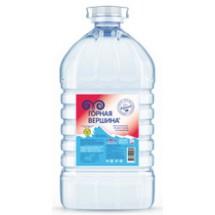 """Горная  питьевая вода  """"Горная вершина"""" 5 л без газа"""