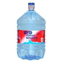 """Природная минеральная столовая вода  """"ГОРНАЯ ВЕРШИНА"""" 19 л  в одноразовой бутыли"""