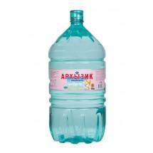 """Природная минеральная столовая детская вода """"Архызик"""" 19л в одноразовой упаковке"""