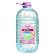 """Природная минеральная столовая детская вода """"Архызик"""" 5 л без газа"""