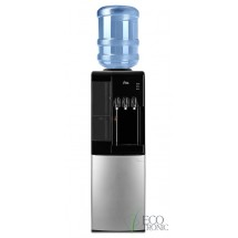 Кулер для воды напольный Ecotronic C7-LF black/silver с холодильником