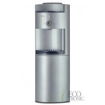Кулер для воды напольный Ecotronic G41-LCE silver со шкафчиком