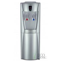 Кулер для воды напольный Ecotronic G31-LCE silver со шкафчиком