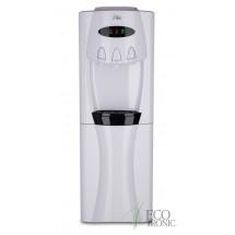 Кулер для воды напольный Ecotronic G30-LCE white   со шкафчиком
