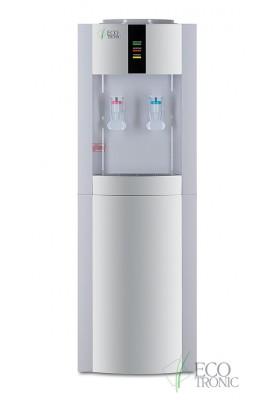 Кулер для воды напольный Ecotronic H1-LE V.2 white-silver