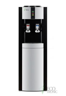 Кулер для воды напольный Ecotronic H10-L black с нагревом и охлаждением