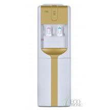 Кулер для воды напольный Ecotronic H3-LCE Gold со шкафчиком