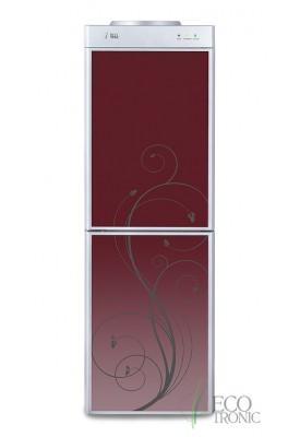 Кулер для воды напольный Ecotronic M5-LF с холодильником red