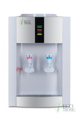 Кулер для воды настольный Ecotronic H1-TE white-silver