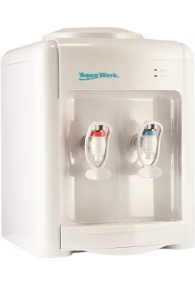 Кулер для воды настольный (водораздатчик) Aqua Work 36TWN без нагрева и охлаждения white