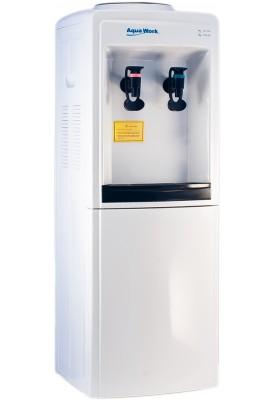 Кулер для воды напольный Aqua Work 0.7-LW/B (водораздатчик) без нагрева и охлаждения