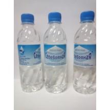 """Питьевая негазированная доочищенная  """"Серебряная вода"""" 0,33"""