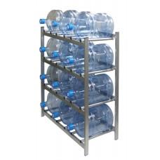 """Стеллаж для хранения бутилированной воды """"БОМИС"""" 12"""