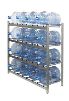 """Стеллаж для хранения бутилированной воды """"БОМИС"""" 16"""