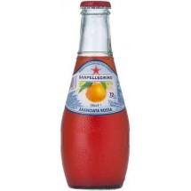 Фруктовый напиток S.Pellegrino (С.Пеллегрино) 0,2 л стекло Красный Апельсин