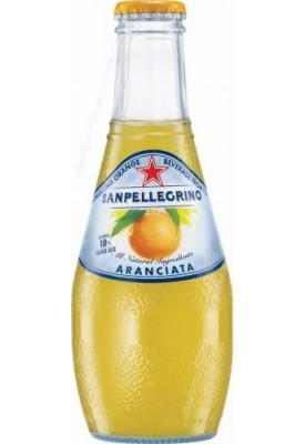 Фруктовый напиток S.Pellegrino (С.Пеллегрино) 0,2 л стекло Апельсин