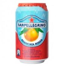 Фруктовый напиток S.Pellegrino (С.Пеллегрино) 0,33 л алюминиевая банка Красный Апельсин