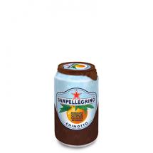 Фруктовый напиток S.Pellegrino (С.Пеллегрино) 0,33 л алюминиевая банка Померанец