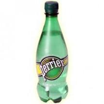 Вода газированная минеральная Perrier (Перье) 0,5 л пластик