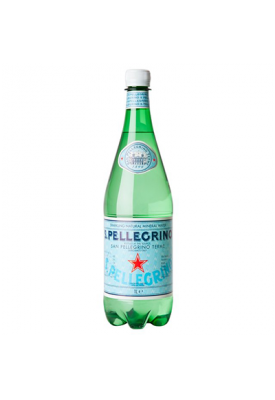 Вода негазированная минеральная S.Pellegrino (С.Пеллегрино) 1,0 л пластик