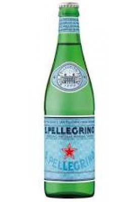Вода негазированная минеральная S.Pellegrino (С.Пеллегрино) 0,5 л стекло
